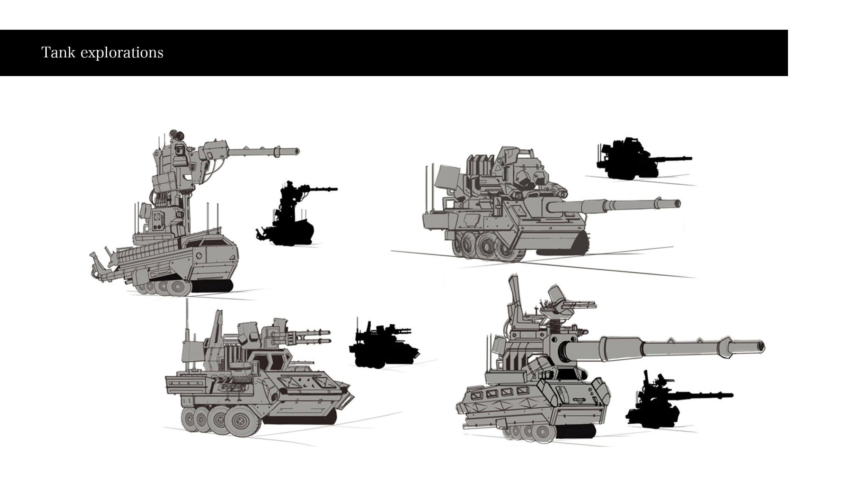 Tank concept design
