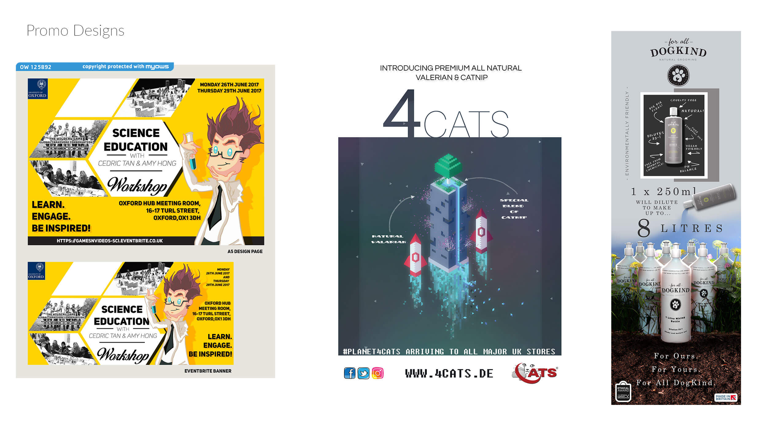 promotional material designs